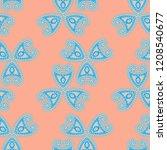 seamless hand drawn pattern...   Shutterstock .eps vector #1208540677