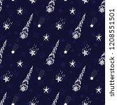 meteor shower. falling stars....   Shutterstock .eps vector #1208551501