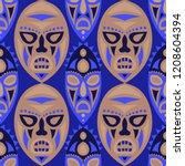 seamless pattern. abstract... | Shutterstock .eps vector #1208604394