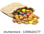 colorful pepernoten treats in...   Shutterstock . vector #1208626177