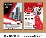 cover design modern   Shutterstock .eps vector #1208629297