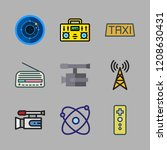 station icon set. vector set...   Shutterstock .eps vector #1208630431