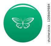 decorative moth icon. simple... | Shutterstock .eps vector #1208669884