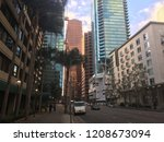 los angeles  ca  feb 2018  view ... | Shutterstock . vector #1208673094