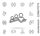 selection of the best employee...   Shutterstock .eps vector #1208679574