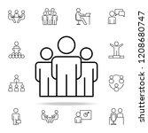 labor market icon. business...   Shutterstock .eps vector #1208680747