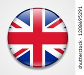 great britain  united kingdom ... | Shutterstock .eps vector #1208695291