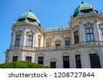 hofburg imperial palace of... | Shutterstock . vector #1208727844
