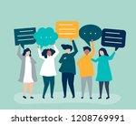 character illustration of...   Shutterstock .eps vector #1208769991