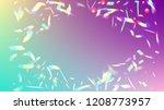 vector rainbow gradient with... | Shutterstock .eps vector #1208773957