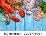 Shellfish And Crustacean...