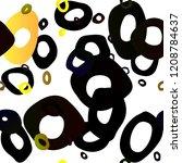 dark green  yellow vector...   Shutterstock .eps vector #1208784637