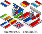 frontier open and closed on the ...   Shutterstock . vector #120880021