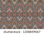brick wall a pattern close. | Shutterstock . vector #1208859067