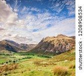 cumbria  england  uk   view of...   Shutterstock . vector #1208908534