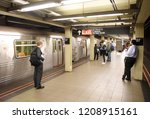 new york  usa   june 8  2018 ... | Shutterstock . vector #1208915161
