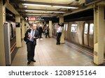 new york  usa   june 8  2018 ... | Shutterstock . vector #1208915164