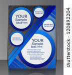 flyer design   business | Shutterstock .eps vector #120892204