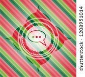 speech bubble icon inside...   Shutterstock .eps vector #1208951014