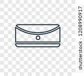 rectangular concept vector... | Shutterstock .eps vector #1208990917