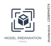 model preparation icon. trendy... | Shutterstock .eps vector #1208994574
