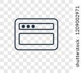 browser concept vector linear...
