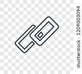 link concept vector linear icon ...