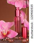 women's perfume in beautiful... | Shutterstock . vector #120900535