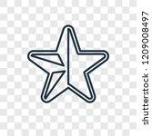 half star full concept vector...