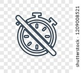 timer off concept vector linear ...