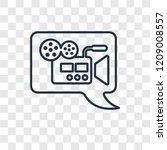video comment concept vector...
