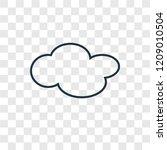 cloud concept vector linear...