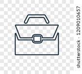 briefcase concept vector linear ...