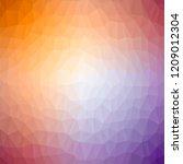 vector colorful polygonal... | Shutterstock .eps vector #1209012304