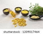 many different pills with... | Shutterstock . vector #1209017464