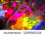 diwali led lights | Shutterstock . vector #1209063124