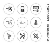 wrench icon set. collection of...   Shutterstock .eps vector #1209063571
