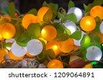 diwali led lights | Shutterstock . vector #1209064891