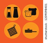 kitchen icon. kitchen vector... | Shutterstock .eps vector #1209098401