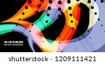 abstract colorful background... | Shutterstock .eps vector #1209111421