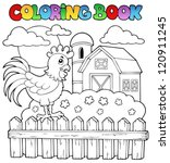coloring book bird image 3  ... | Shutterstock .eps vector #120911245