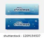 merry christmas background ...   Shutterstock .eps vector #1209154537