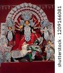 durga pratima in kolkata india   Shutterstock . vector #1209166081