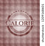 calorie red badge with... | Shutterstock .eps vector #1209168601