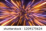 abstract bright creative cosmic ...   Shutterstock . vector #1209175624