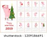 2019 Calendar Template. New...