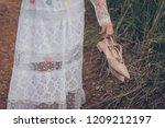 Defocus Of Women In White Dres...