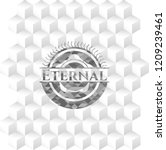 eternal retro style grey emblem ... | Shutterstock .eps vector #1209239461