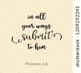 biblical phrase from proverbs...   Shutterstock .eps vector #1209252241