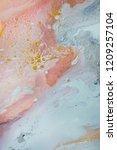blue navy indigo art abstract... | Shutterstock . vector #1209257104